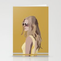 golden Stationery Cards featuring Golden by Anna McKay