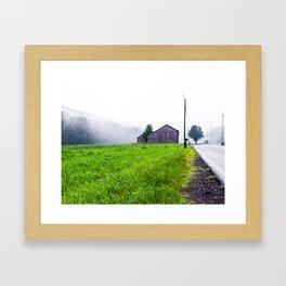 Upstate NY, Early Morning... Framed Art Print
