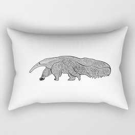 Giant Anteater or Ant Bear Ink Art - animal design Rectangular Pillow