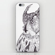 Horned Owl iPhone & iPod Skin