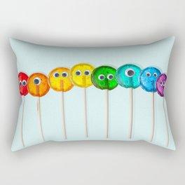 Lollipop Rainbow Rectangular Pillow