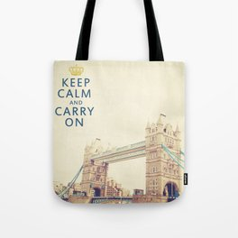 Keep Calm London Tote Bag
