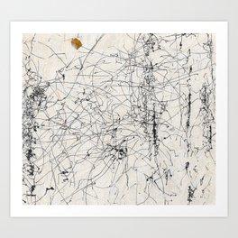 Wind Drawing #39 Art Print