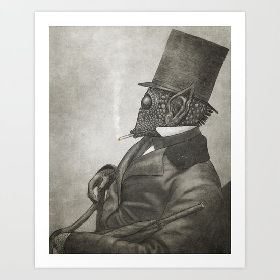 The Earl of Eisley  Art Print