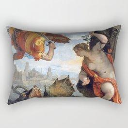 Perseus and Andromeda Rectangular Pillow