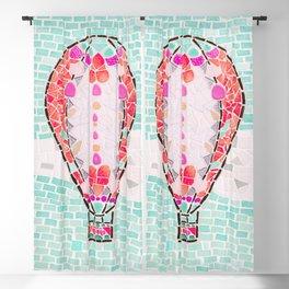 Hot Air Balloon - Colorful Escape Blackout Curtain