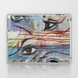 I love your Eyes - Oilpainting from 1991 Laptop & iPad Skin