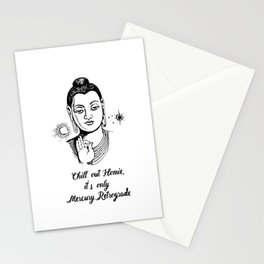 Chill out homie Stationery Cards