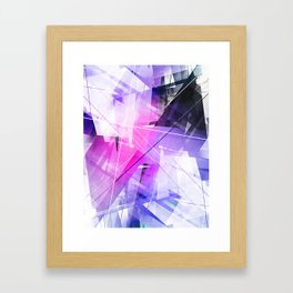 Replica - Geometric Abstract Art Framed Art Print