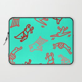 Dance In Your (Blue) Pants Laptop Sleeve
