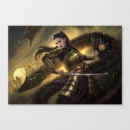 Dragon Army Canvas Print
