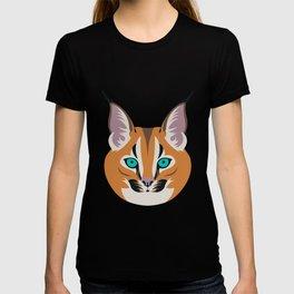 Caracal linx T-shirt