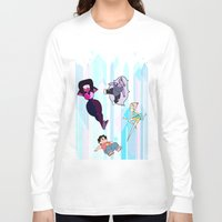 steven universe Long Sleeve T-shirts featuring Steven Universe by EclecticMayhem