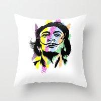 salvador dali Throw Pillows featuring Salvador Dali by Art of Fernie