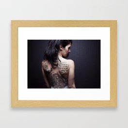 Stacey Framed Art Print