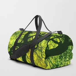Green is the Tree Duffle Bag
