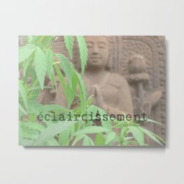 High(er) Level Enlightenment Metal Print