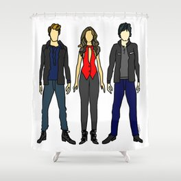 Outfits of Vamps Shower Curtain