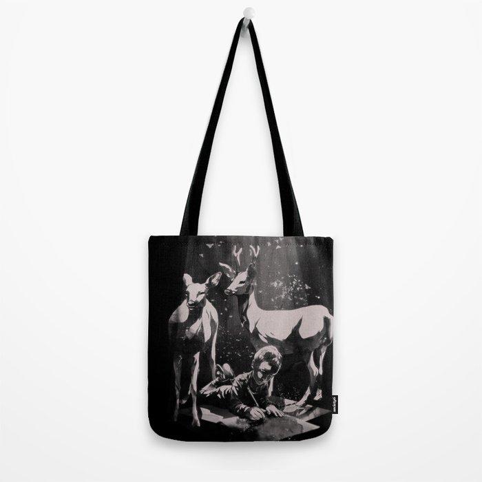 Deer Dad Tote Bag