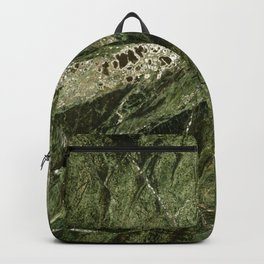 Marble Rain Forest Green Backpack