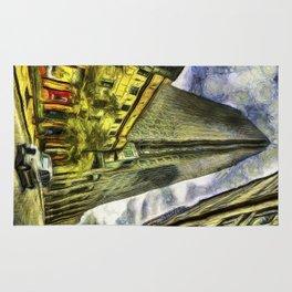Canary Wharf London Art Rug