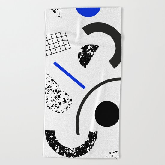 Pieces Beach Towel