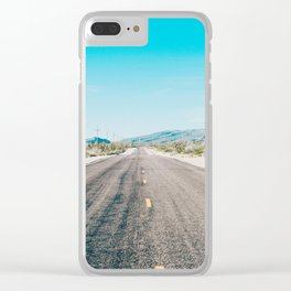 rhodes Clear iPhone Case