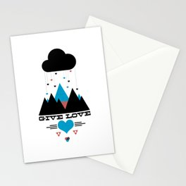 Give Love Stationery Cards