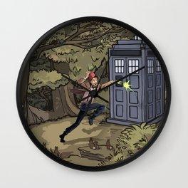 Doctor in Wonderland Wall Clock