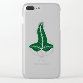Leaf of Lorien Clear iPhone Case