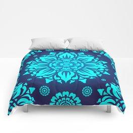 PATTERN ART04-Blue Comforters