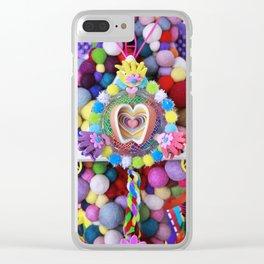 Joy Bomb Clear iPhone Case