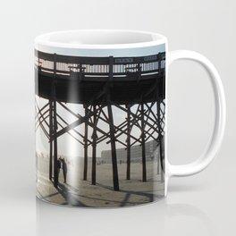 Folly Beach Pier Shadows Coffee Mug