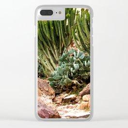 A Walk in the Desert Clear iPhone Case