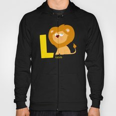 l for lion Hoody