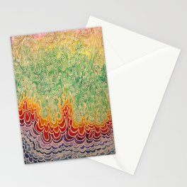 Vines and Flames Stationery Cards