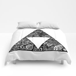 Triforce Zentangle Comforters