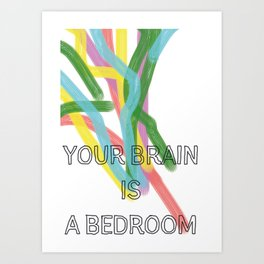 Schlafzimmer Art Print