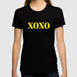 Yellow XOXO T-shirt