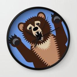 Big Bad Bear Wall Clock
