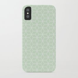 Hive Mind Light Green #395 iPhone Case