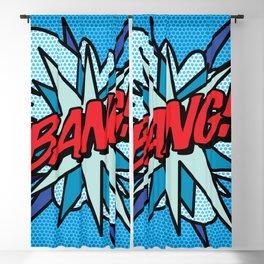 BANG Comic Book Pop Art Cool Fun Graphic Blackout Curtain