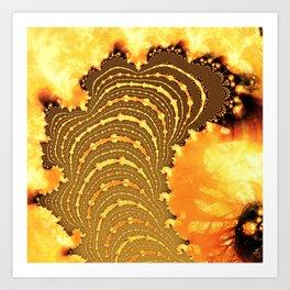Lava/ Art Print
