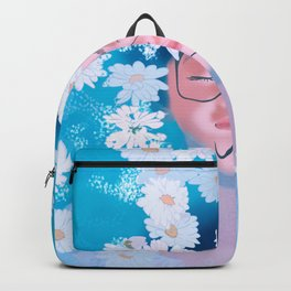WOMAN IN WATER Backpack