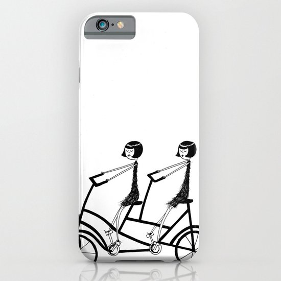 tandem bicycle iPhone & iPod Case