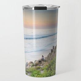 Pipes Beach Travel Mug