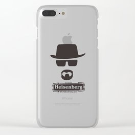 Heisenberg Braking Bad Clear iPhone Case
