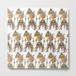 Wayang Prabu Rama Metal Print