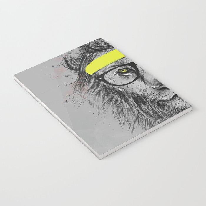 hipster lion Notebook