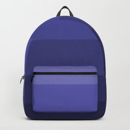 Dark Winter Blue Hues - Color Therapy Backpack